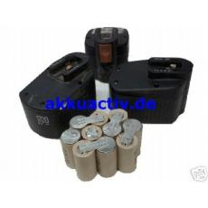Akkupack 12V für Fein Werkzeugakkus 92604038021
