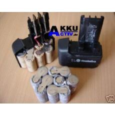 Akkupack 12V für Metabo Impuls  Akkus