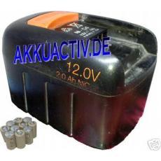 Akkupack 12V für Fein Werkzeugakkus 92604071023 ; 92604068028