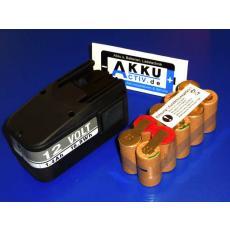 Ersatzakkupack 12V für AEG / Atlas Copco Werkzeugakkus