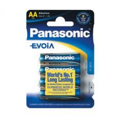 Panasonic LR06 EVOIA AA Mignon 4-er Blister