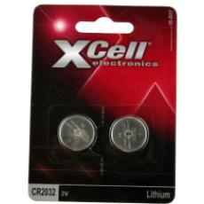 XCELL Lithium CR2032/2BL
