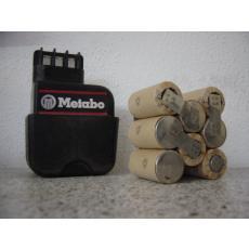 Akkupack 9,6V für Metabo Akkus L