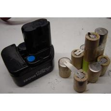 Ersatzakkupack 12V für Hitachi Werkzeugakkus