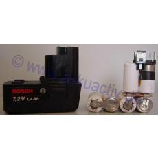 Akkupack 7,2V für Bosch L