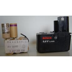 Akkupack 9,6V für Bosch L