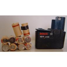 Akkupack 12V für Bosch L