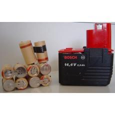 Akkupack 14,4V für Bosch L