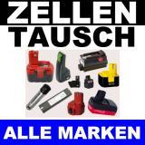 Akkuaufbereitung / Zellentausch 13,2V - 18V (nur Einbau)