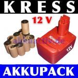Akkupack 12V für Kress V2 Werkzeugakkus