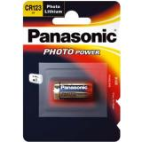 Panasonic CR-123 Fotozelle Lithium 34,5x17 (HxØ/mm) 3V