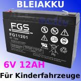 FGS Bleiakku 6V/12Ah